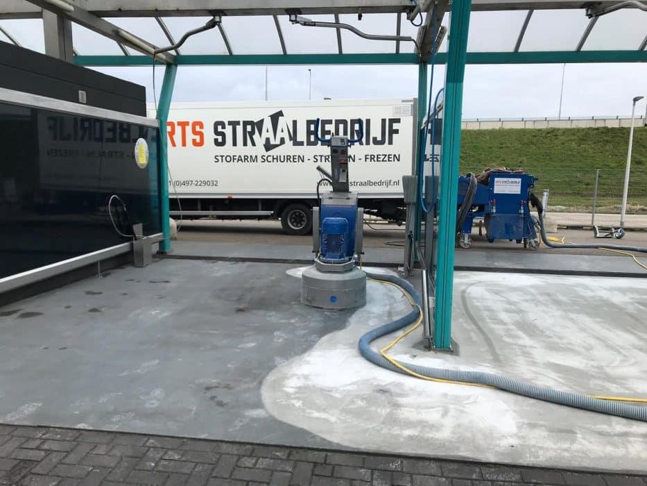 Straalbedrijf Arts beton reparatie
